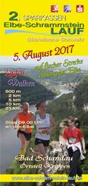 Flyer zum Elbe-Schrammstein-Lauf