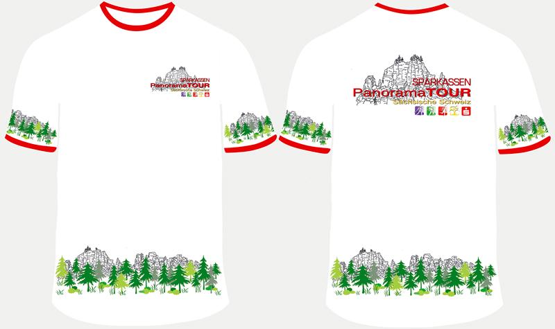 Das Teilnehmer-T-Shirt zur Panoramatour
